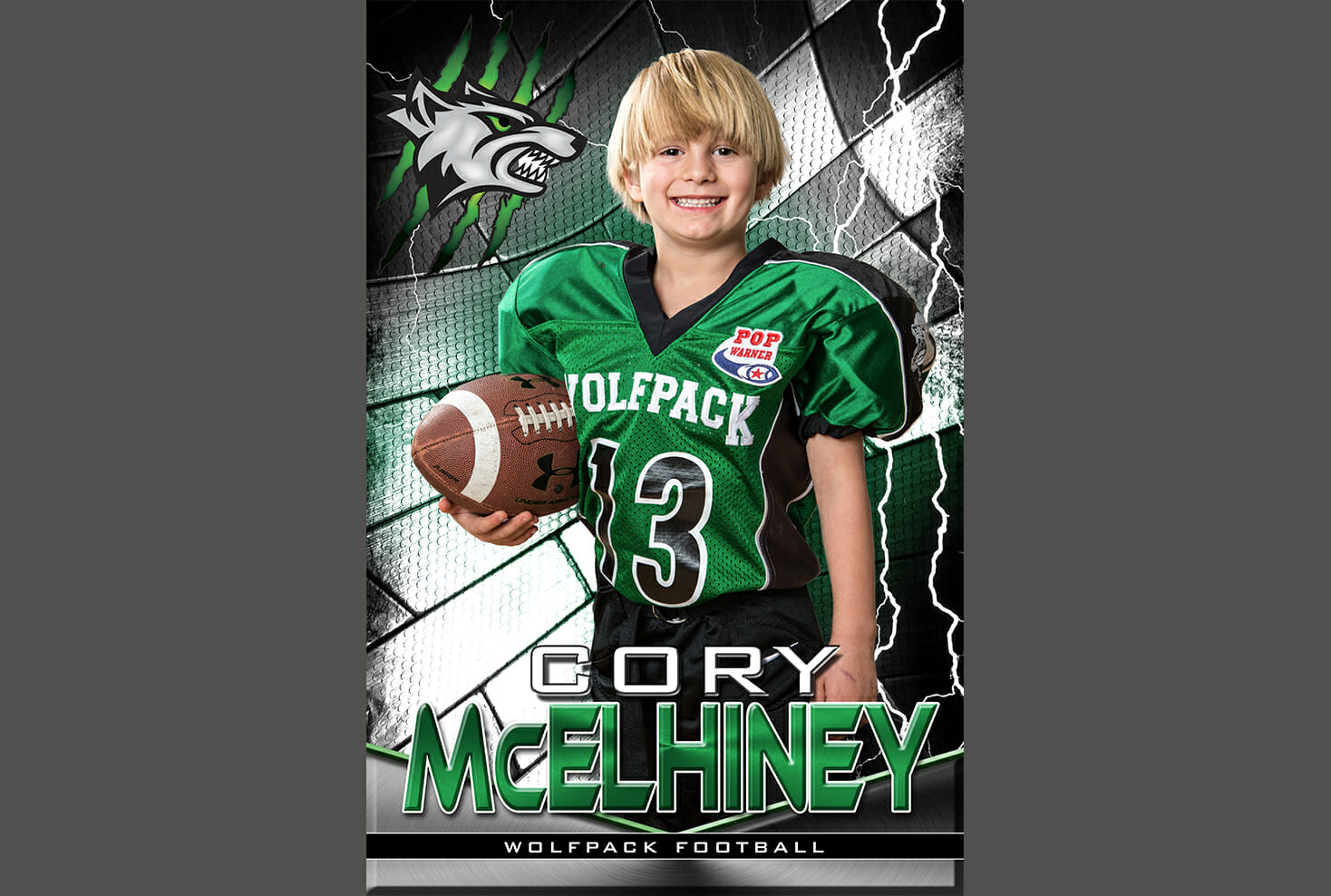 Denver youth football banner photo