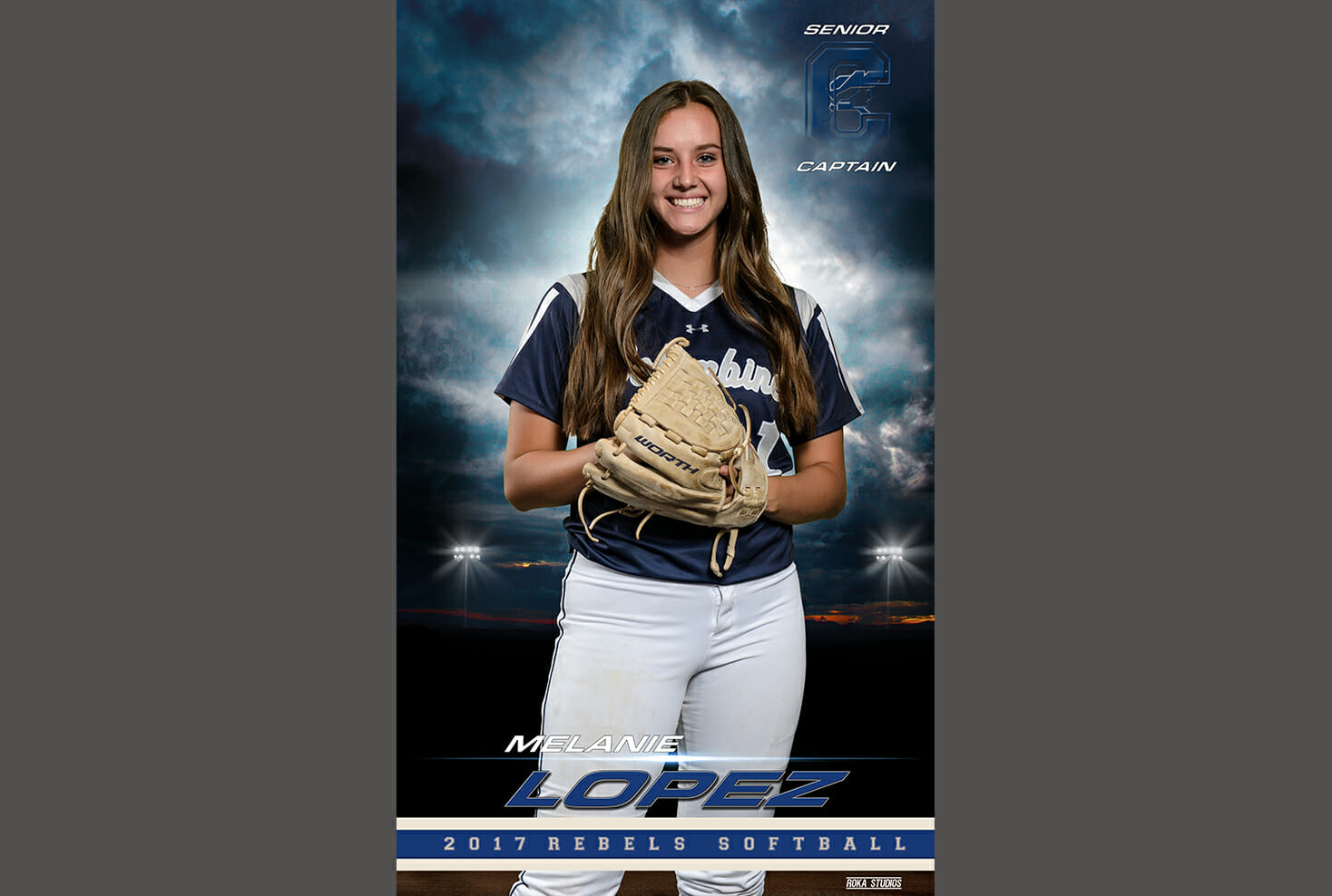 Columbine High School Softball banner