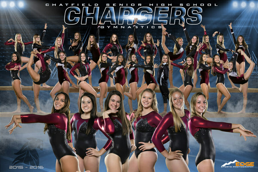 Chatfield High School Gymnastics Team Banner