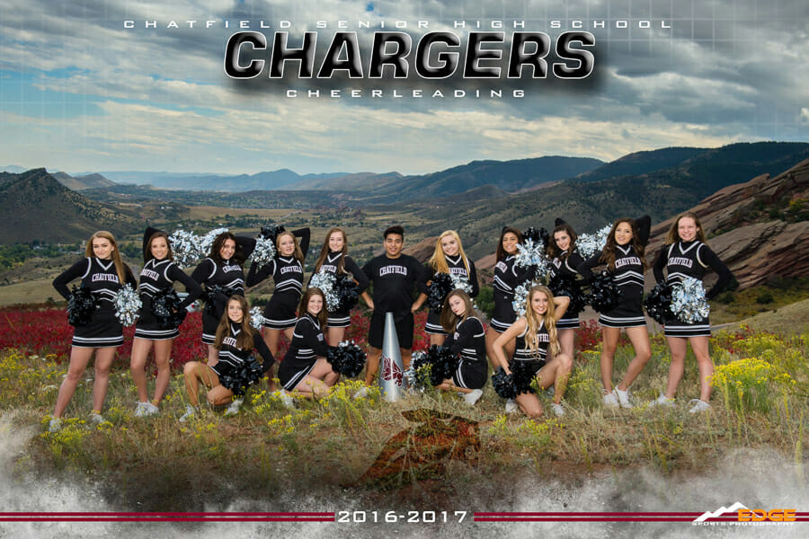 Chatfield High School  Cheer Banner