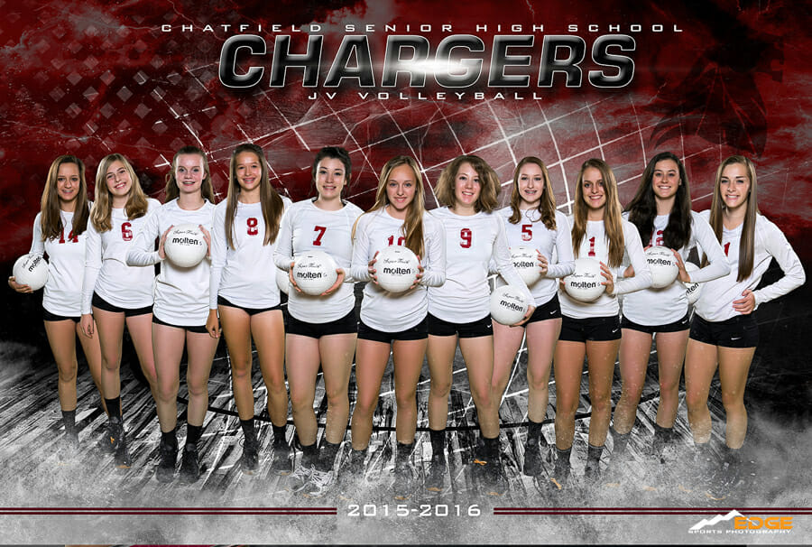 Chatfield High School Volleyball Team banner