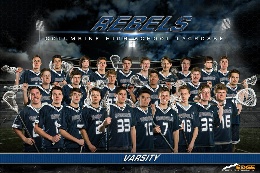 Columbine High School Lacrosse Team banner
