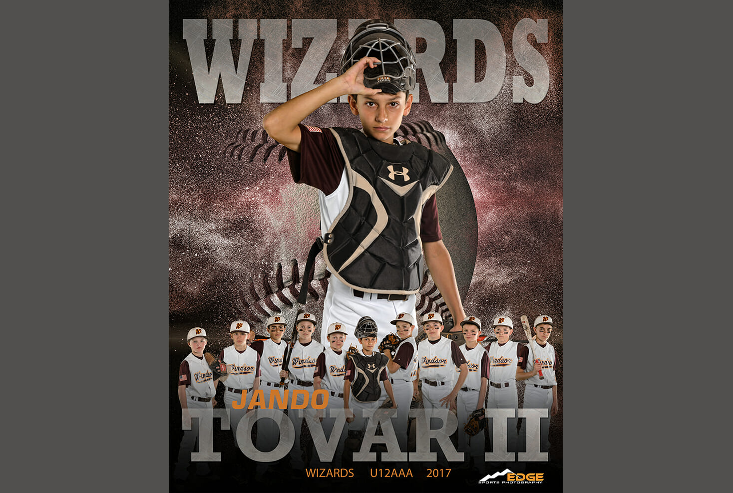 Windsor Wizard baseball sports photo