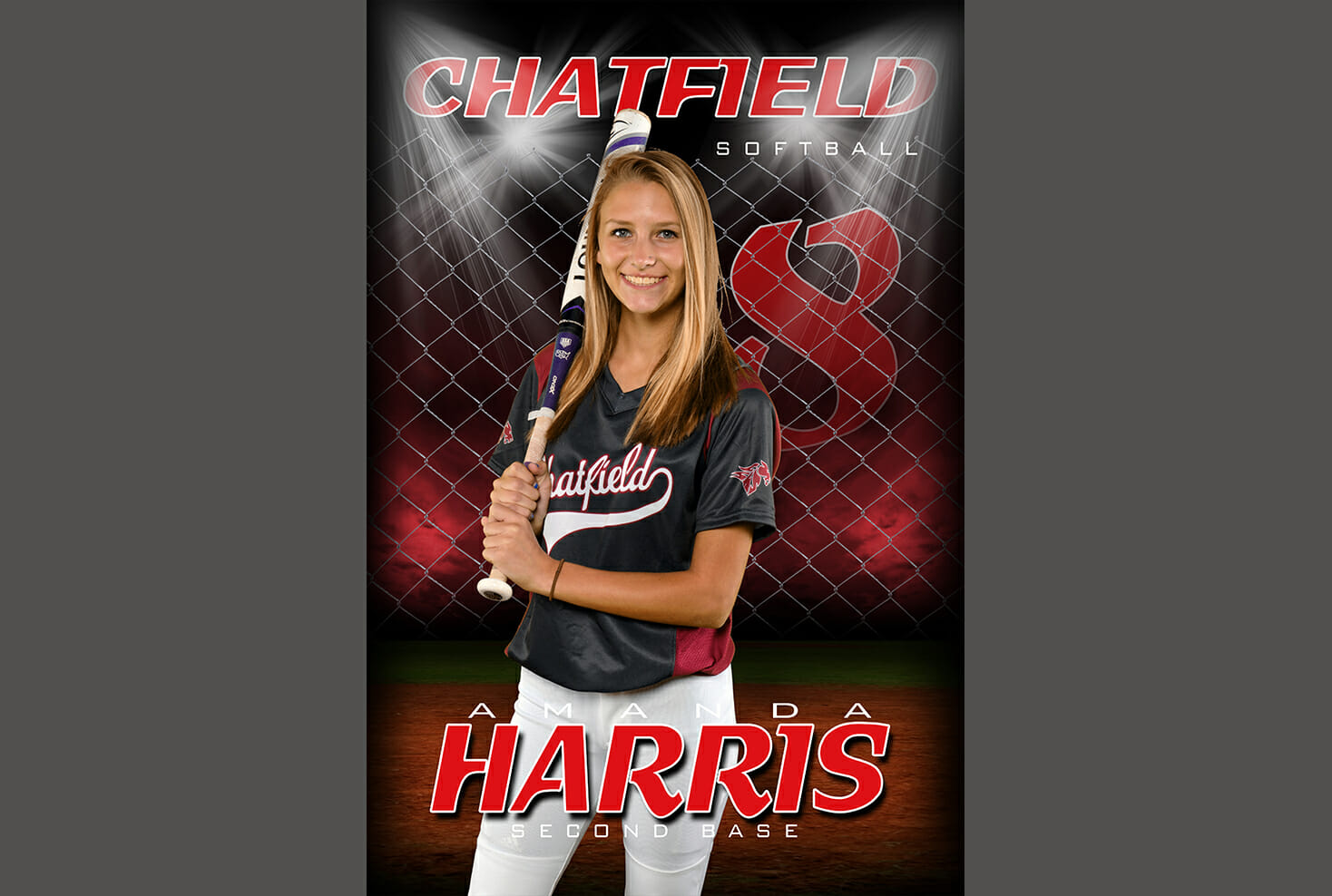 Chatfield Senior High School Softball individual sports photo