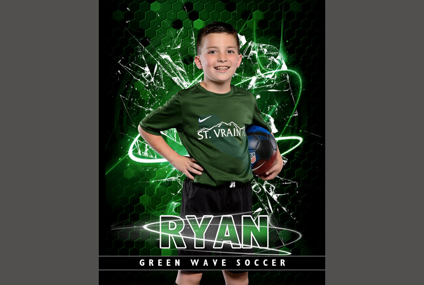 St Vrain youth soccer individual photo