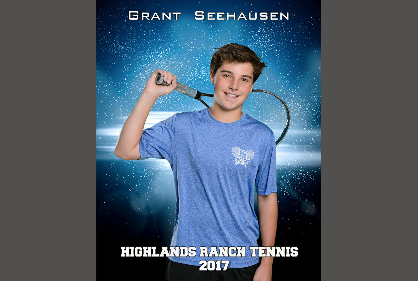 Highlands Ranch High School tennis individual photo