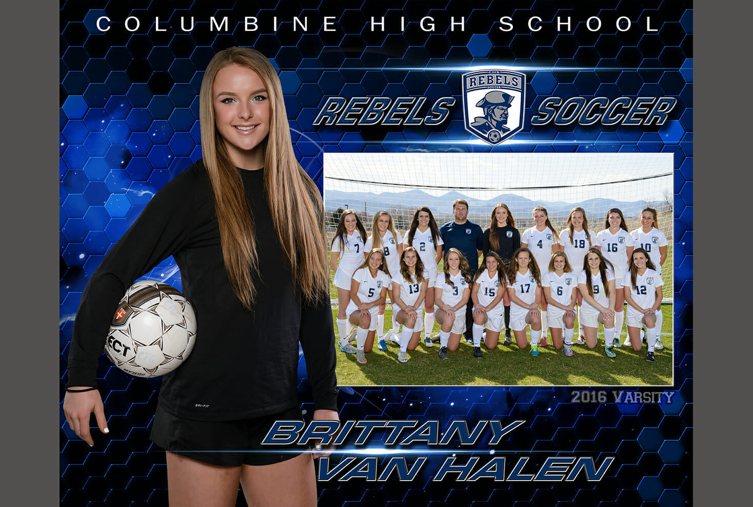 Columbine high school girls soccer memory mate