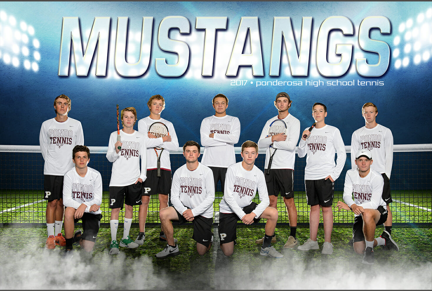 Team poster of Ponderosa Tennis