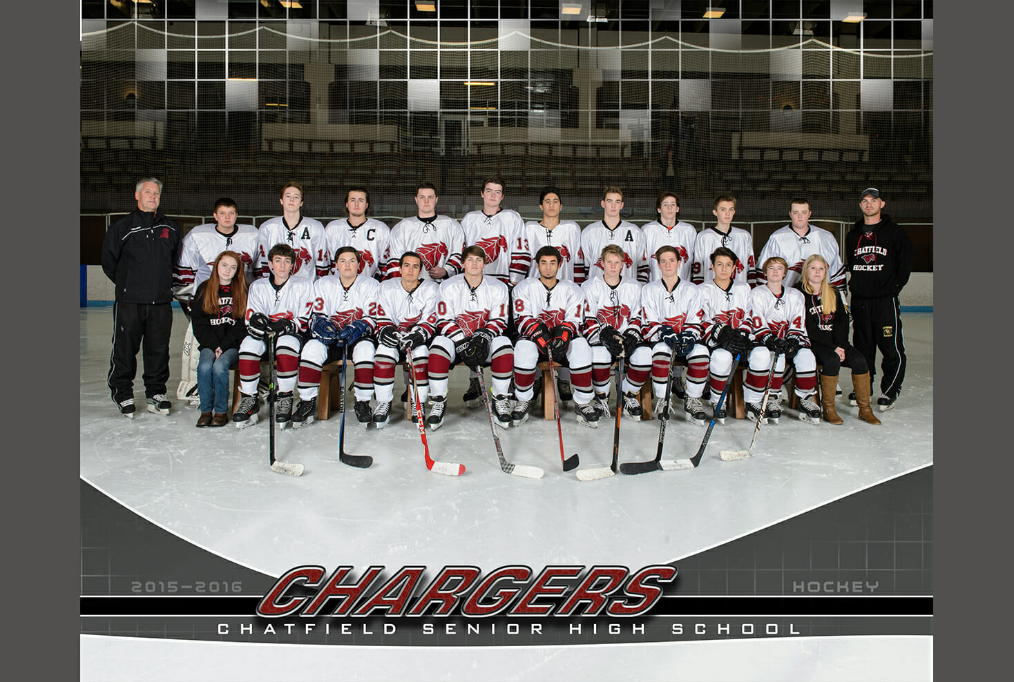 Chatfield Senior High School Hockey Team Photo